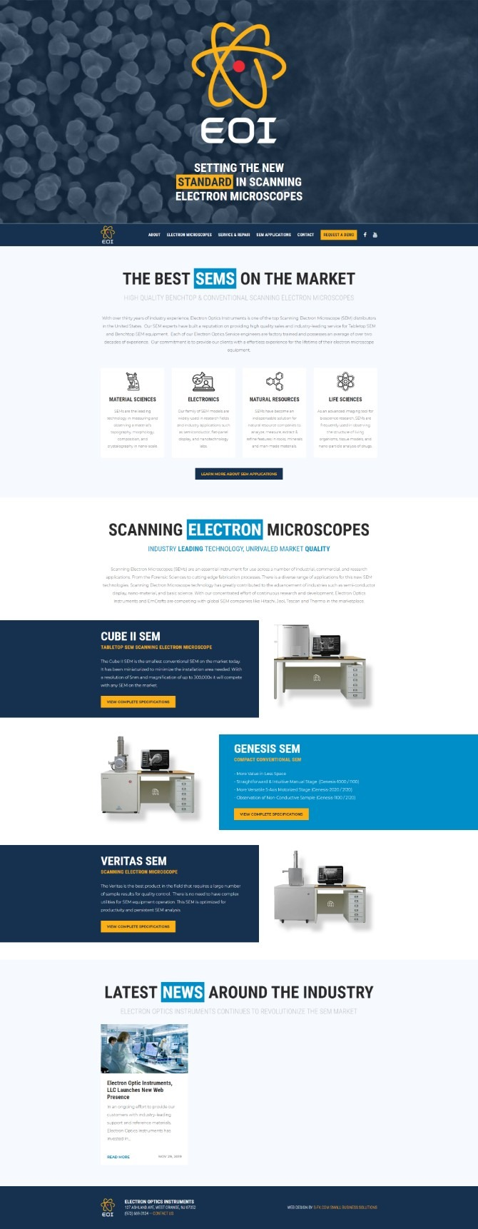 Electron Optics Instruments, LLC.