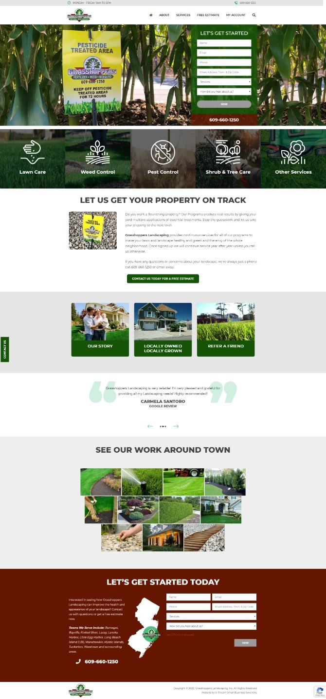 Grasshoppers Landscaping