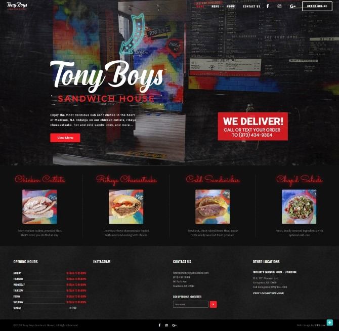Tony Boy's Sandwich House