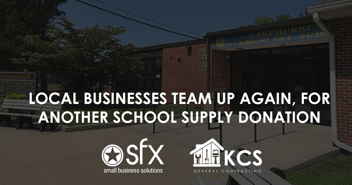 Lakehurst School District Receives School Supplies Donations From Two Local Businesses